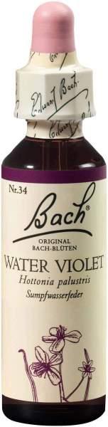 Bachblüten Water Violet 20 ml Tropfen
