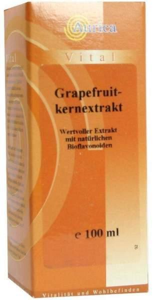Grapefruit Kern Extrakt Aurica 100 ml Tropfen
