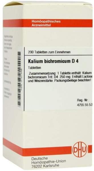 Kalium Bichromicum D 4 200 Tabletten