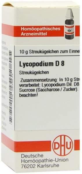 Lycopodium D 8 Globuli