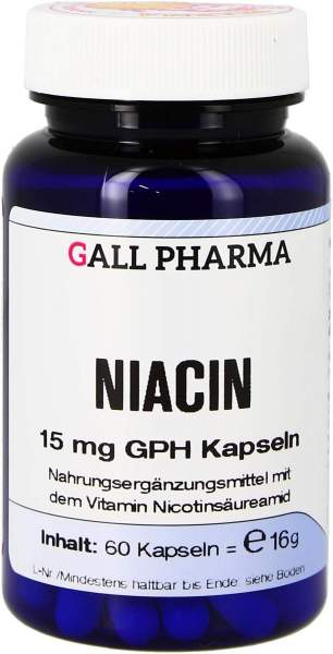 Niacin 15 mg Gph Kapseln 750 Kapseln