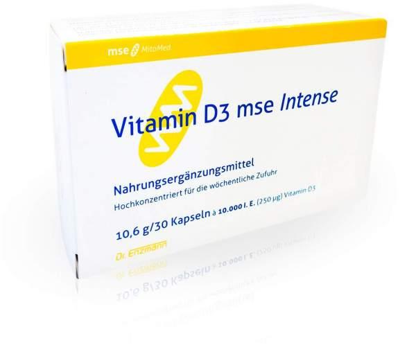 Vitamin D3 Mse Intense Kapseln