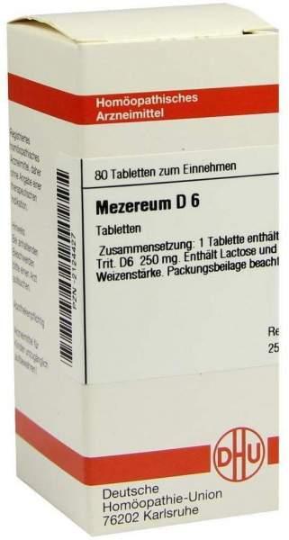 Mezereum D6 80 Tabletten