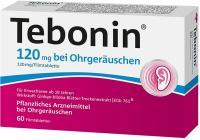 Tebonin 120 mg bei Ohrgeräuschen 60 Filmtabletten