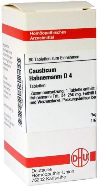 Causticum Hahnemanni D 4 80 Tabletten