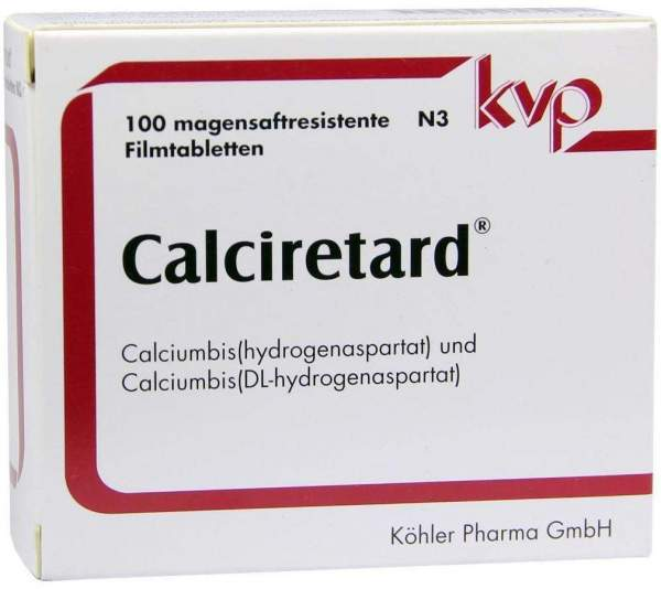 Calciretard 100 Magensaftresistente Dragees