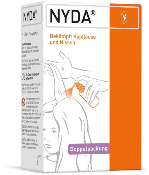 Nyda Gegen Läuse und Nissen Pumplösung Doppelpackung 2 X 50 ml