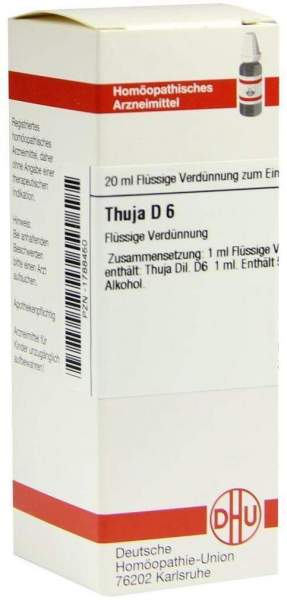 Thuja D6 20 ml Dilution
