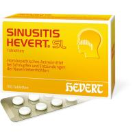 Sinusitis Hevert SL 100 Tabletten