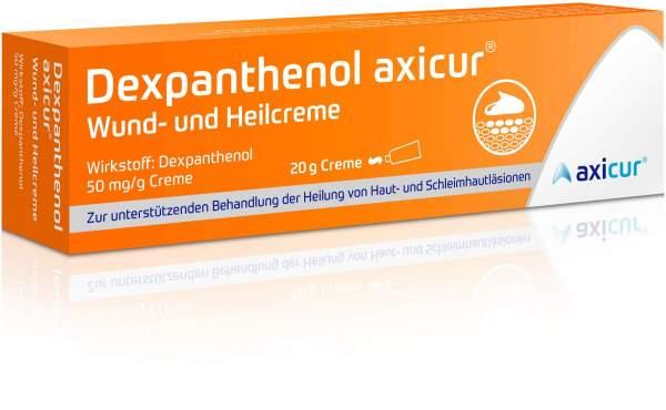 Dexpanthenol axicur Wund- und Heilcreme 20 g