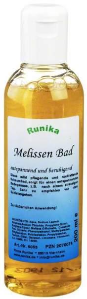 Runika Melissen Bad 200 ml