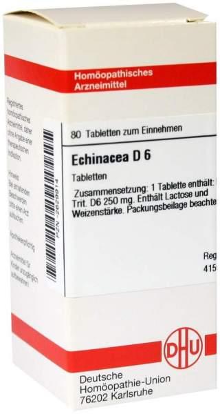 Echinacea Hab D 6 Tabletten 80 Tabletten
