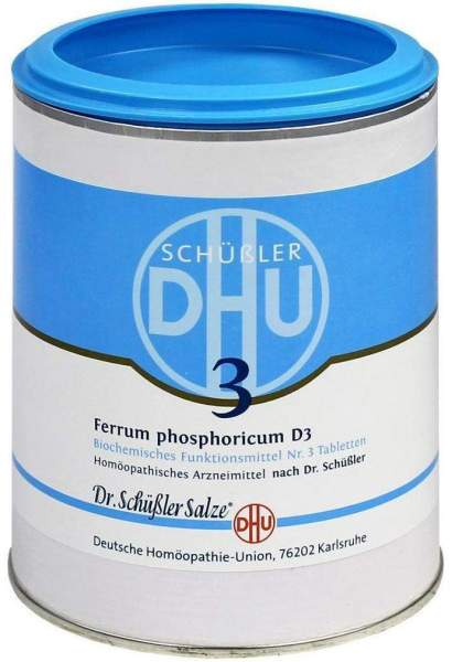 Biochemie Dhu 3 Ferrum Phosphoricum D3 1000 Tabletten