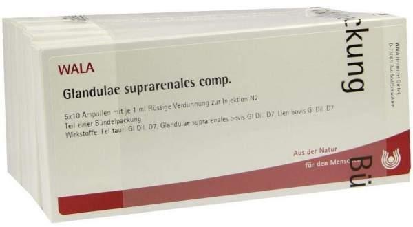 Wala Glandulae Suprarenales Comp. 50 X 1ml Ampullen