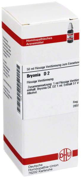 Dhu Bryonia D2 Dilution