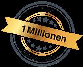 Über 1 Millionen Zufriedene Kunden
