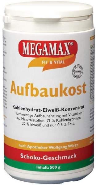 Megamax Aufbaukost Schoko 500 G Pulver