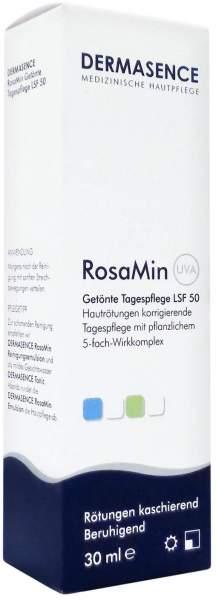 Dermasence Rosamin Getönte Tagespflege Lsf 50 30 ml Creme