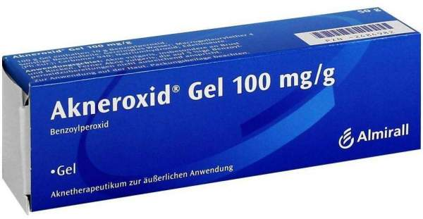 Akneroxid 10 Gel 50 G Gel