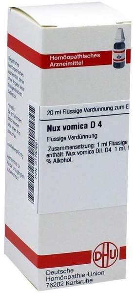 Nux Vomica D4 20 ml Dilution