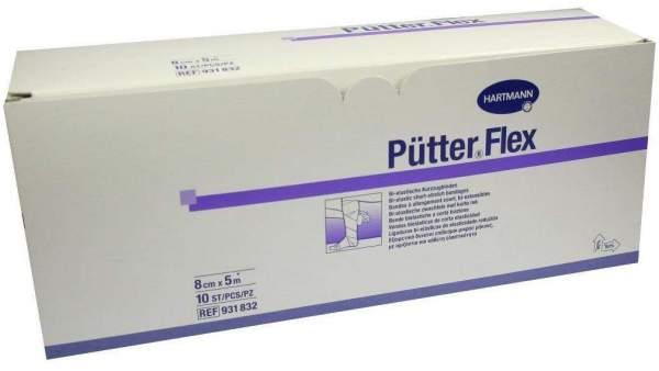 Pütter Flex Binde 8 cm X 5 M 10 Binden