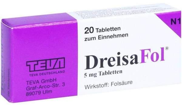 Dreisafol 20 Tabletten