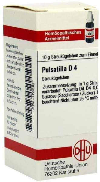 Dhu Pulsatilla D4 10 G Globuli