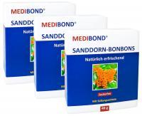 Sanddorn Bonbons zuckerfrei Medibond 3 x 40 g