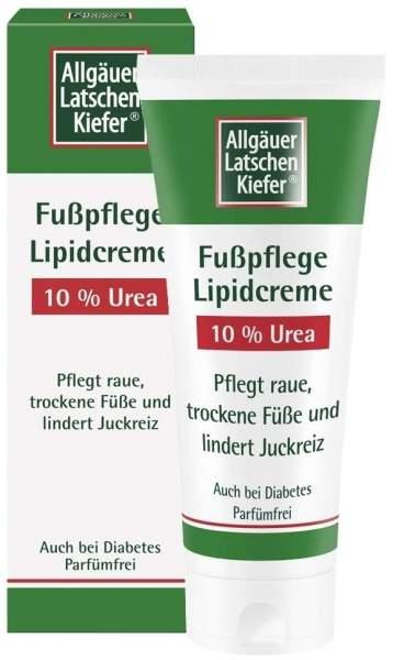 Allgäuer Latschenkiefer Fuß Lipidcreme 10% Urea 100 ml Creme