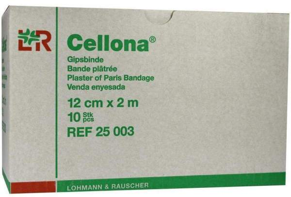 Cellona Gipsbinden 2 M X 12 cm 2 X 5 Binden