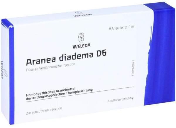 Weleda Aranea Diadema D6