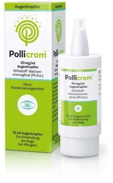 Pollicrom 20 mg je ml Augentropfen 10 ml