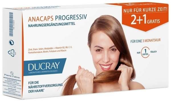 Ducray Anacaps Progressiv Vorteilspack 90 Kapseln