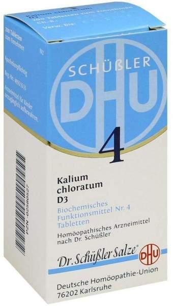Biochemie Dhu 4 Kalium Chloratum D3 200 Tabletten