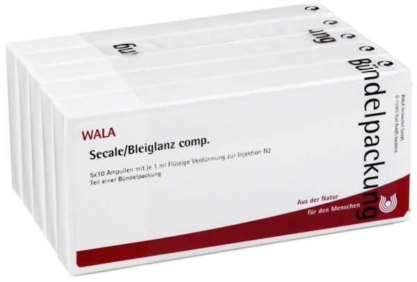 Secale Bleiglanz Comp. Ampullen 50 X 1 ml