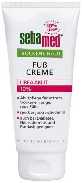 Sebamed trockene Haut Fußcreme 10 % Urea akut 100 ml