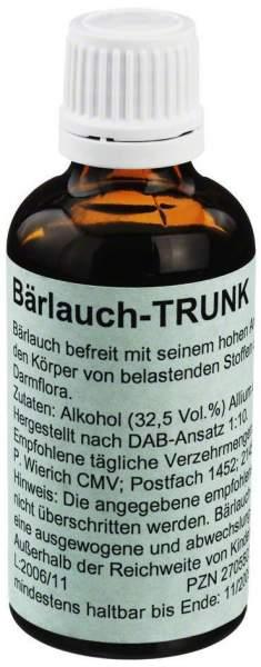 Bärlauch Trunk Tropfen