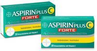 Aspirin Plus C forte  Brausetabletten im Doppelpack 2 x 10 Stück