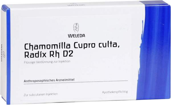 Weleda Chamomilla Cupro Culta, Radix Rh D2 (1%)