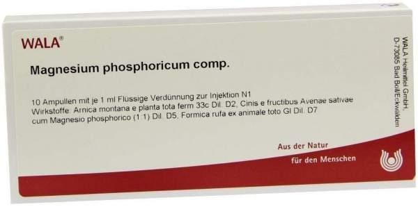 Magnesium Phos. Comp. Ampullen 10 X 1 ml