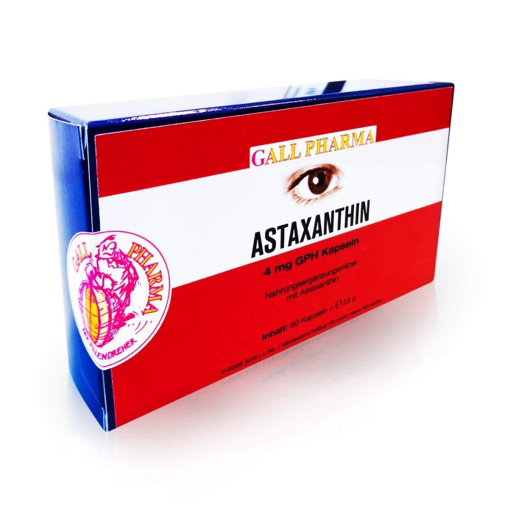 Astaxanthin 4mg 60 Kapseln Gph