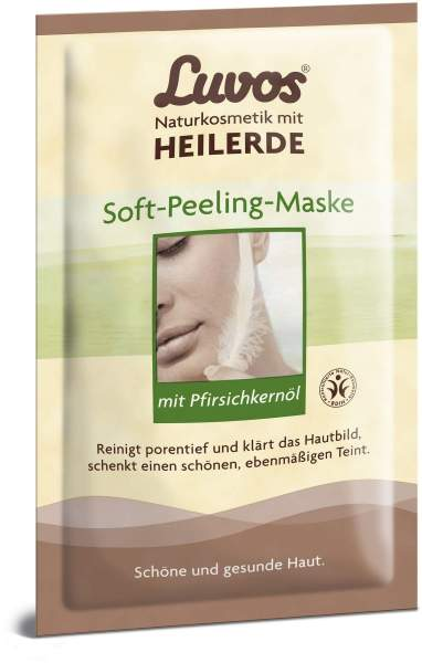 Luvos Crememaske Soft Peeling Gebrauchsfertig 2 X 7,5 Ml...
