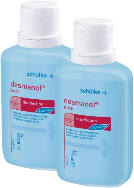 Doppelset Desmanol Pure 2 x 100 ml