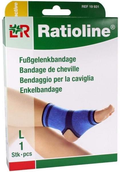 Ratioline Active Fußgelenkbandage Größe L 1 Stück