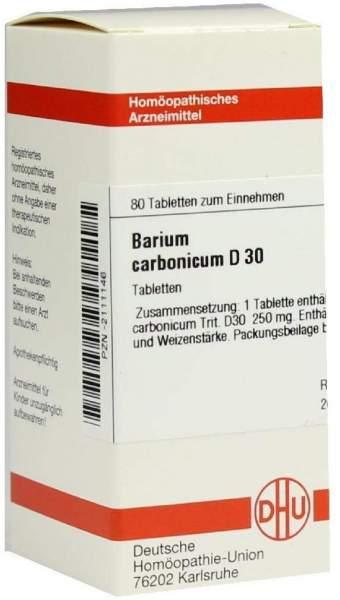 Barium Carbonicum D 30 Tabletten