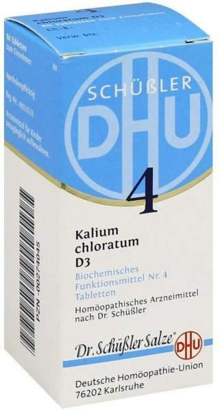 Biochemie Dhu 4 Kalium Chloratum D3 80 Tabletten