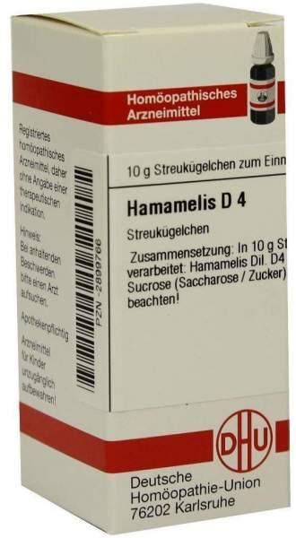 Hamamelis D4 10 G Globuli