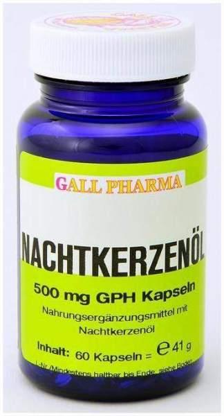 Nachtkerzenöl 500 mg Gph 750 Kapseln
