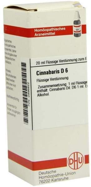 Cinnabaris D 6 Dilution