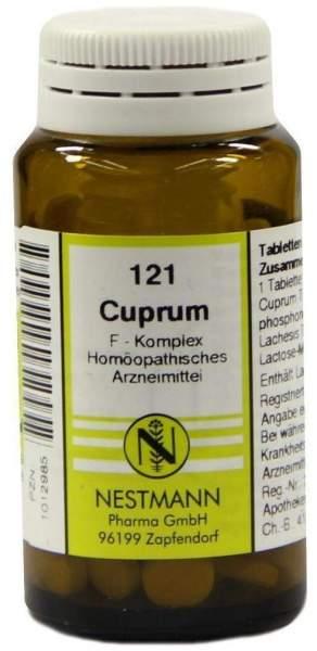 Cuprum F Komplex 121 Tabletten 120 Stück